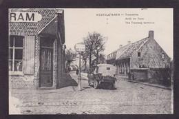 CPA Belgique Westvleteren Arrête Du Tramway Non Circulé - Other