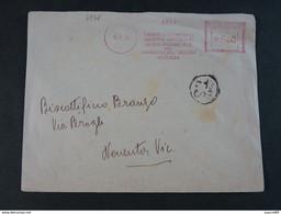 """4851 ITALIA Regno EMA-1949- Storia Postale """"Camera Di Commercio Industria Ed Agricoltura"""" Ordinaria (descrizione) - Machine Stamps (ATM)"""