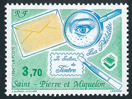ST-PIERRE ET MIQUELON 1994 - Yv. 606 **   Faciale= 0,56 EUR - Salon Du Timbre, à Paris  ..Réf.SPM12067 - Neufs