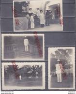 Au Plus Rapide Tonkin Indochine Archive Militaire Médecin ? Médaille Décoration Carte Photo Pouss-pouss  Beau Format - War, Military