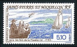 ST-PIERRE ET MIQUELON 1993 - Yv. 579 **   Faciale= 0,78 EUR - Exode Vers Les îles De La Madeleine  ..Réf.SPM12015 - Neufs