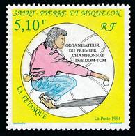 ST-PIERRE ET MIQUELON 1994 - Yv. 593 **   Faciale= 0,78 EUR - Sport : Pétanque  ..Réf.SPM12040 - Neufs