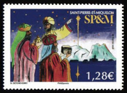 SP & M 2020 - Etoile De Noël ** - Unused Stamps