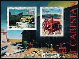SP & M 2020 - Bloc - Le Cabestan ** - Unused Stamps
