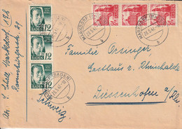Allemagne Zone Française Lettre Markdorf 1947 - Zona Francesa