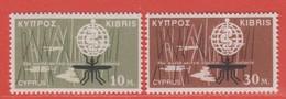 1962 ** (sans Charn., MNH, Postfrish)   Yv  192/3   Mi  200/1 SG 209/0 - Ungebraucht