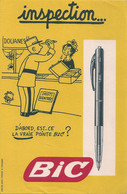 Buvard BIC Illustré Effel - Effel