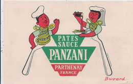 Buvard Panzani Illustré Morvan - Morvan