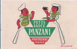 Buvard  Pates Panzani Parthenay - Parthenay