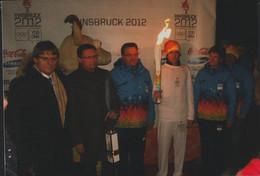 Austria E-postcard 2012 Innsbruck Youth Olympic Games - Torch Relay Posted Wien Postamt Christkindl (G119-1) - Invierno 2012: Innsbruck (Juegos Olímpicos De La Juventud)