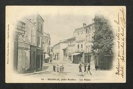 16 - MANSLE - Près Ruffec - La Place - 1906 - Mansle