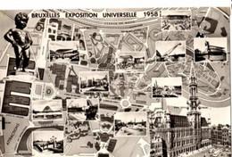 BRUSSEL - Expo 1958 - Plan 1269 -  - Egicarte - Wereldtentoonstellingen