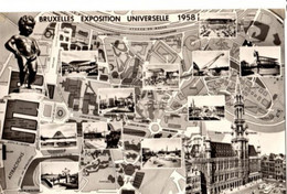 BRUSSEL - Expo 1958 - Plan 1269 -  - Egicarte - Mostre Universali