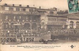 94-NOGENT-SUR-MARNE- LES TERRASSES DU CASINO DE L'ILE DE BEAUTE, ANCIENNE MAISON CONVERT , GAILLARD SUCC - Nogent Sur Marne