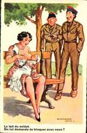 Jean Chaperon Militaire Le Lait Du Soldat - On Lui Demande De Trinquer Avec Nous - Chaperon, Jean