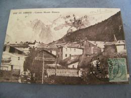 CPA - Italie - Pré St Saint Didier - Catena Monte Bianco - 1912 - SUP - (EF 53) - Other Cities