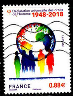 France Poste Obl Yv:5290 Mi: Droits De L'homme (Lign.Ondulées) - Oblitérés
