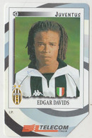 Edgar DAVIDS (Juventus) # Scheda Telefonica # - Sport