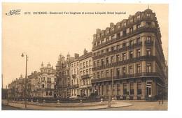 Oostende - Boulevard Van Iseghem Et Avenue Léopold. Hotel Impérial. - Oostende