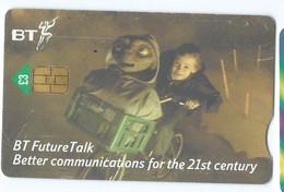 Phonecard - United Kingdom - [1] BT - British Telecom - It Cinema / Film,cycling,children. - Sonstige