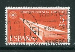 ESPAGNE- Express Y&T N°34- Oblitéré - Correo Urgente