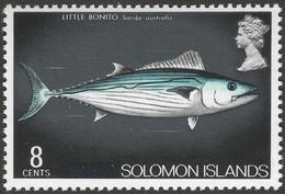"British Solomon Islands. 1975 Definitives. ""British"" Obliterated. 8c MNH. SG 290 - Salomonen (...-1978)"