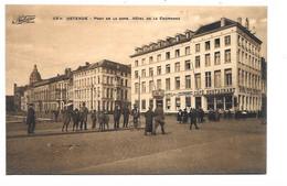Oostende - Pont De La Gare. Hotel De La Couronne. - Oostende