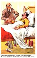 Humour - Ivrogne - Chaperon Jean (CH J) A Vous La Fièvre Docteur ! J'me Charge D'la Soif - Chaperon, Jean