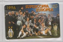 SUPERCOPPA EUROPEA 1996 (Juventus) # Scheda Telefonica # Juvecentus - Sport