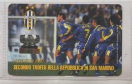 2° Trofeo Della Repubblica Di San Marino 1997(Juventus) # Scheda Telefonica Sanmarinese # - Sport