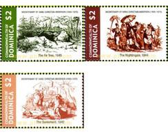 Ref. 227704 * MNH * - DOMINICA. 2005. BICENTENARY OF THE BIRTH OF HANS CHRISTIAN ANDERSEN . 200 ANIVERSARIO DEL NACIMIEN - Dominica (1978-...)