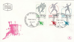FDC ISRAEL 704-706 - Unclassified