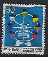 Japan 1983  World Communications Year  (o) Mi.1565 - Gebruikt