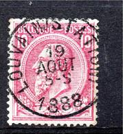 Belgie - Belgique - Capon - Nr 46 - Louvain (Station) - 1884-1891 Leopold II