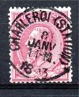Belgie - Belgique - Capon - Nr 46 - Charleroy (Station) - 1884-1891 Leopold II
