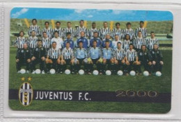 Juventus 2000 # Scheda Telefonica # Prodotto Ufficiale - Sport