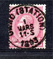 Belgie - Belgique - Capon - Nr 46 -  Gand (Station) - 1884-1891 Leopold II