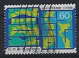 Japan 1987  Cent.of Land Registration  (o) Mi.1716 - Gebruikt