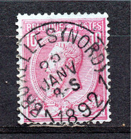 Belgie - Belgique - Capon - Nr 46 - Bruxelles Nord 1 - 1884-1891 Leopold II
