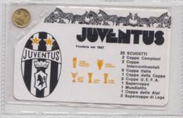 Juventus # Scheda, Con Palmares E Monetina D'oro # Prodotto Ufficiale - Sport