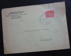 Yugoslavia 1947 Advert. Cover CROATIA Sent From Podsused To Beocin  C2 - Cartas