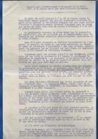 ARRACOURT  Compte Rendu D'Atterrissage D'un Aéroplane Allemand Le 22 Avril 1913 - Equipment