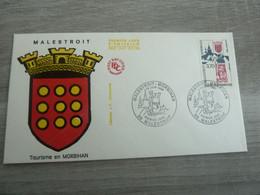 MALESTROIT - MORBIHAN - TOURISME - EDITIONS J.F. COURBEVOIE - ANNEE 1989 - - Oblitérés