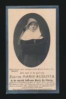 ZUSTER MARIE AUGUSTA / MARIE DE CLERCQ   DESTELBERGEN 1871   NIEUWERKERKEN 1923 - Avvisi Di Necrologio