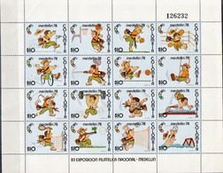 Colombia MNH Sheetlet From 1978 - Unclassified