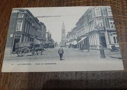La Louvière, Rue Du Commerce. Attelage, Tabacs, Cigares Houdeng-Goegnies. - La Louvière