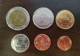 Thailand Coin Circulation Set Year 2014 - Thailand
