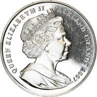 Monnaie, Falkland Islands, Elizabeth II, Crown, 2007, Pobjoy Mint, 25ème - Falkland Islands