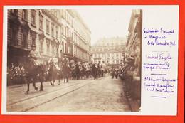 Vab024 Rare Carte-Photo MAYENCE Entrée Des Français 14 Décembre 1918 Général FAYOLLE Et MANGIN 10e Armée MAINZ CpaWW1 - Mainz