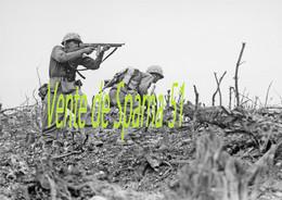 Américains Sur Le Front -  A3 Plastifiée - 1939-45